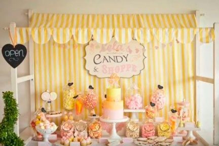 Candy Bar-Buffet